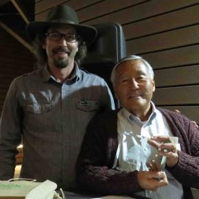 2014 Volunteer of the Year David Nishioka with ENC Executive Director Bo Glover