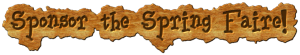 Sponsor the Spring Faire