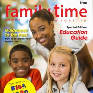 Family Time Magazine Cover