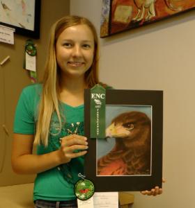 Katie Gentt, 1st place winner, 15 - 18 category