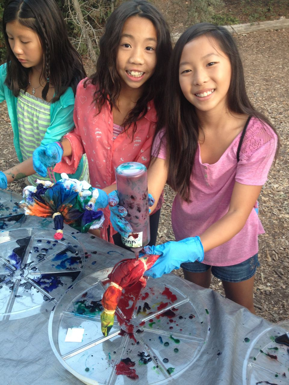 Tie Dye Party Environmental Nature Center