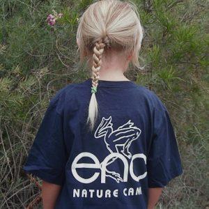 summer nature camp shirt back