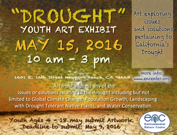 "ENC presenting ""Drought"" Youth Art Exhibit!"