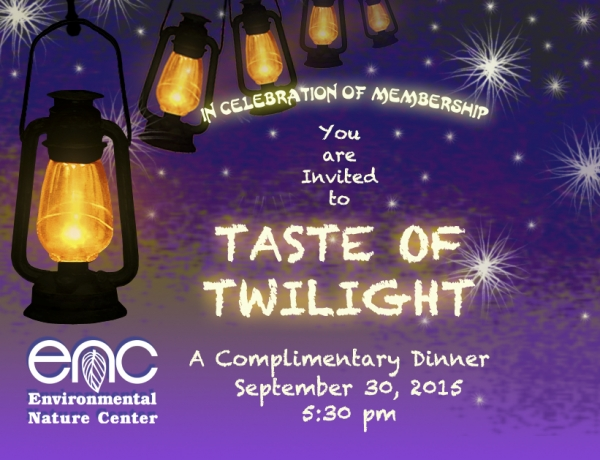 Come Taste the Twilight at the ENC!