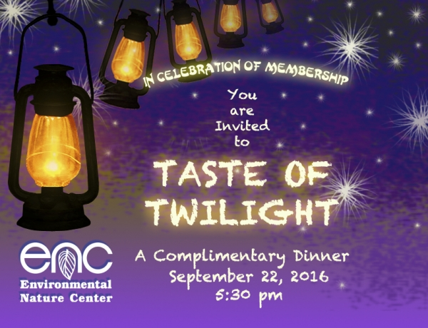 Join us for a Taste of Twilight!