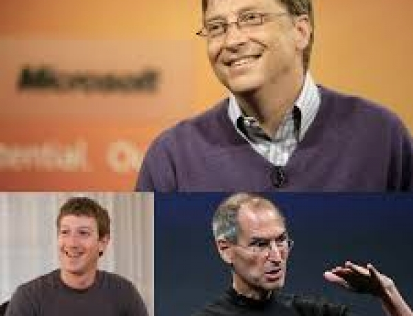 What do Mark Zuckerberg, Bill Gates and Steve Jobs have in common?