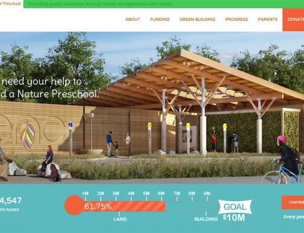 ENC Nature Preschool Launches New Website