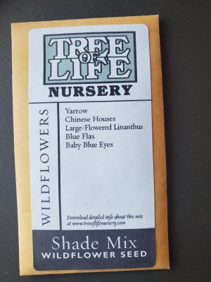 Shade Mix Seed Packet