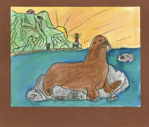 by Nora Devente, honorable mention, Age 8 - 10 category