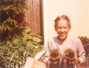 Bo and his raccoons