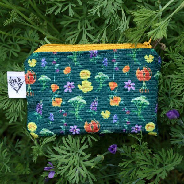Wildflower pouch